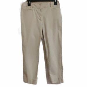 Talbots The Perfect Crop Curvy Pants